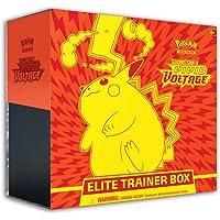 Pokemon Cards: Sword & Shield 4 Vivid Voltage Elite Pikachu - Trainer Box