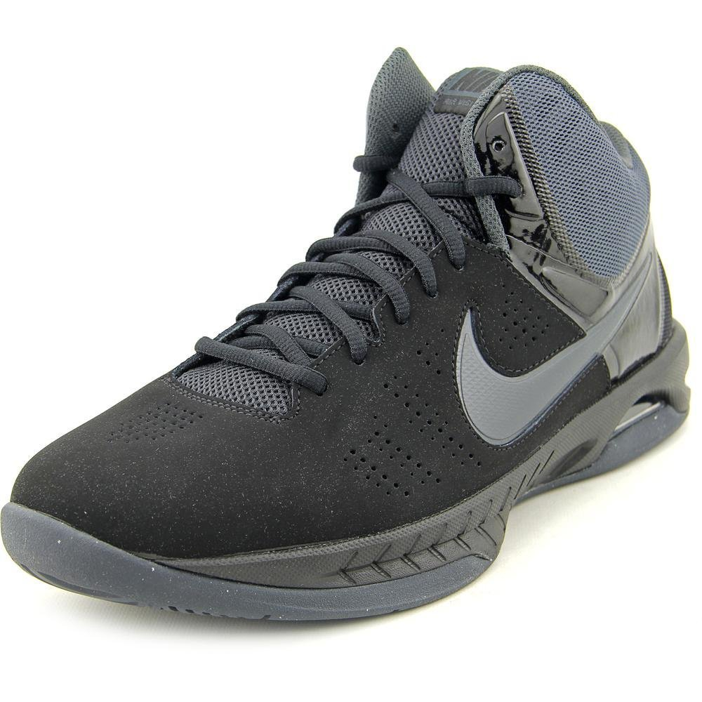 Nike Mens Air Visi Pro Vi Nbk Black/Anthracite Ankle-High Nubuck Basketball Shoe - 11M by Nike