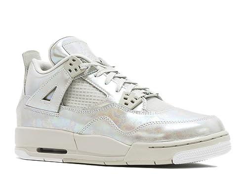 Nike Air Jordan 4 Retro Pearl GG, Zapatillas de Running para Niñas: Amazon.es: Zapatos y complementos