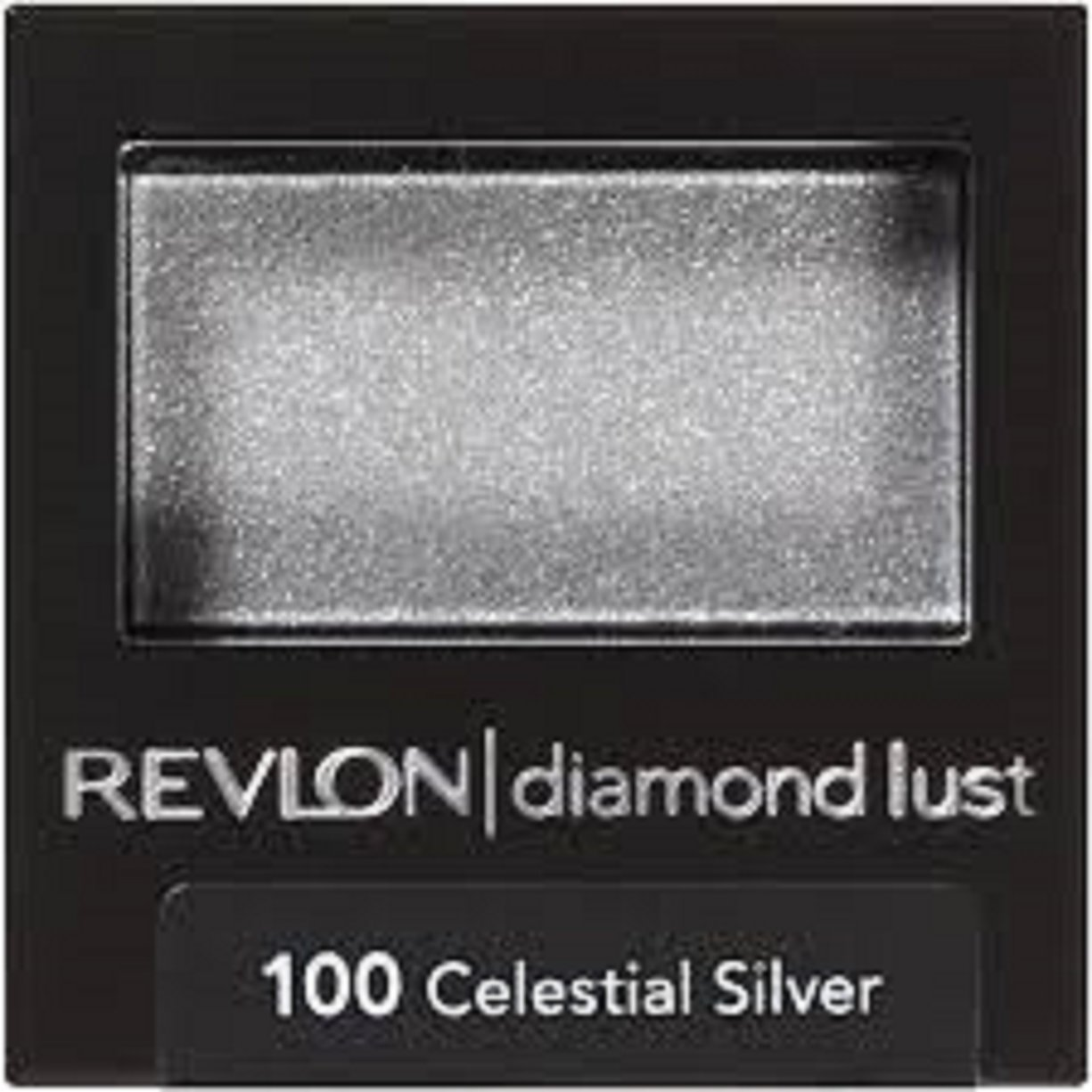 REVLON Luxurious Color Diamond Luste Eye Shadow, 100 Celestial Silver, 0.028 Oz, Pack of 10. by Revlon (Image #1)