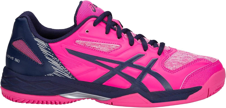 ASICS Gel Padel Exclusive 5 SG Zapatillas, Unisex-Adult, Rosa, 6.5