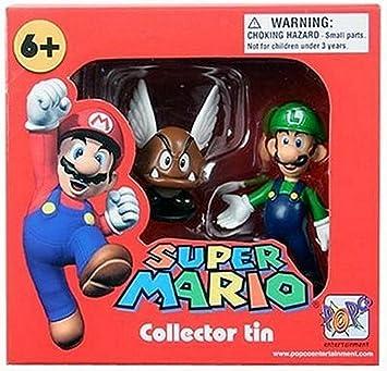SUPER MARIO Collector Tin     LUIGI /& PARAGOOMBA      NEW