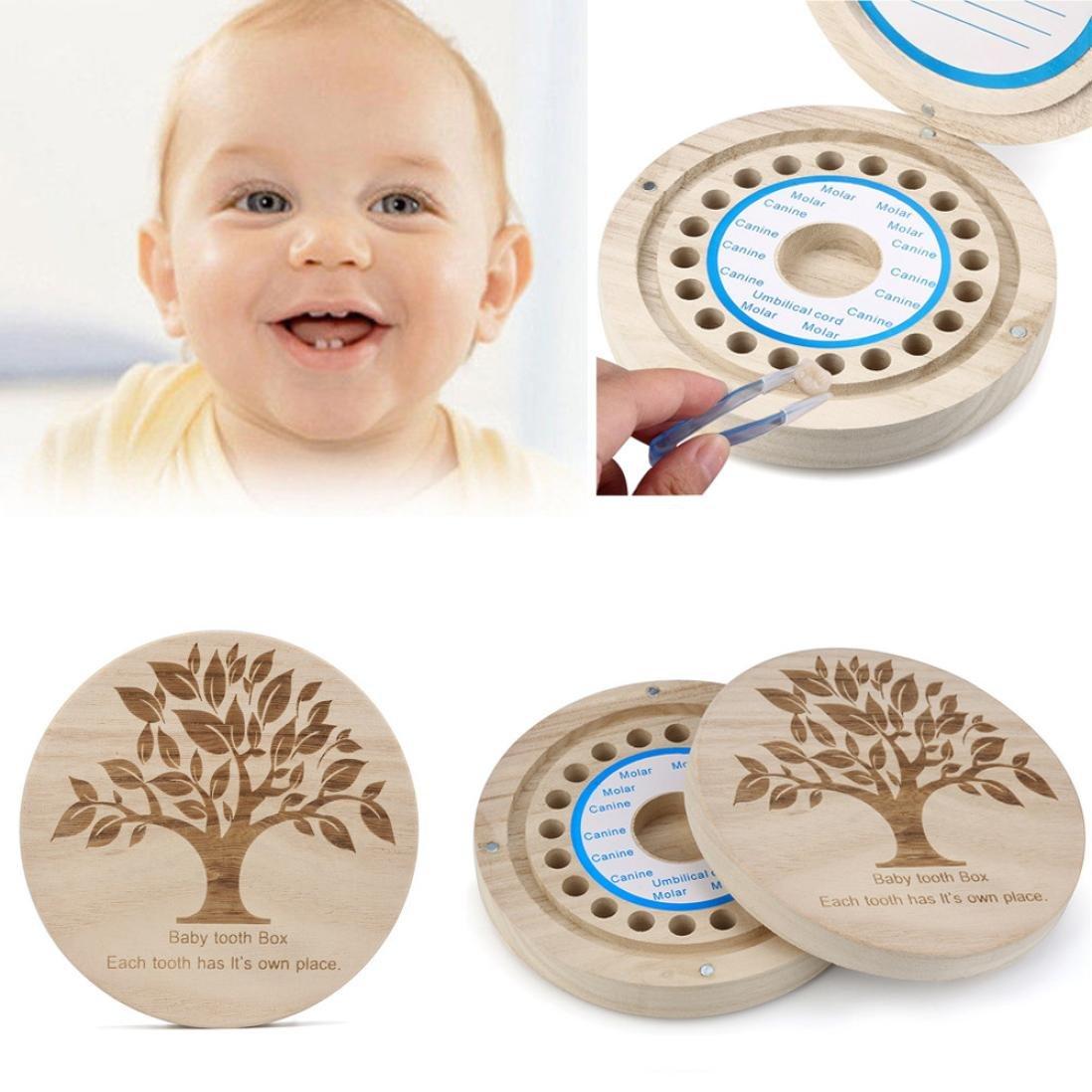 Winkey - Caja organizadora para guardar dientes de leche para bebé ...