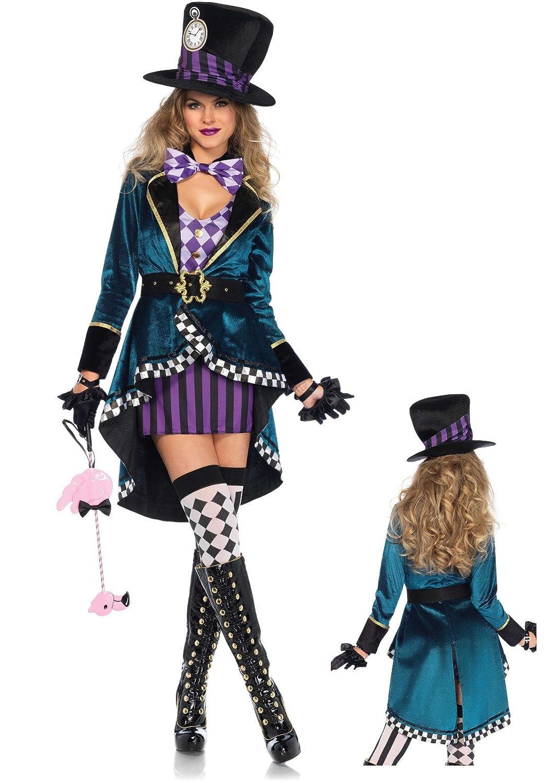 LEG AVENUE 85592 Wunderland Hutmacher Damen Kostüm Größe (S) (S) (S) c3580d