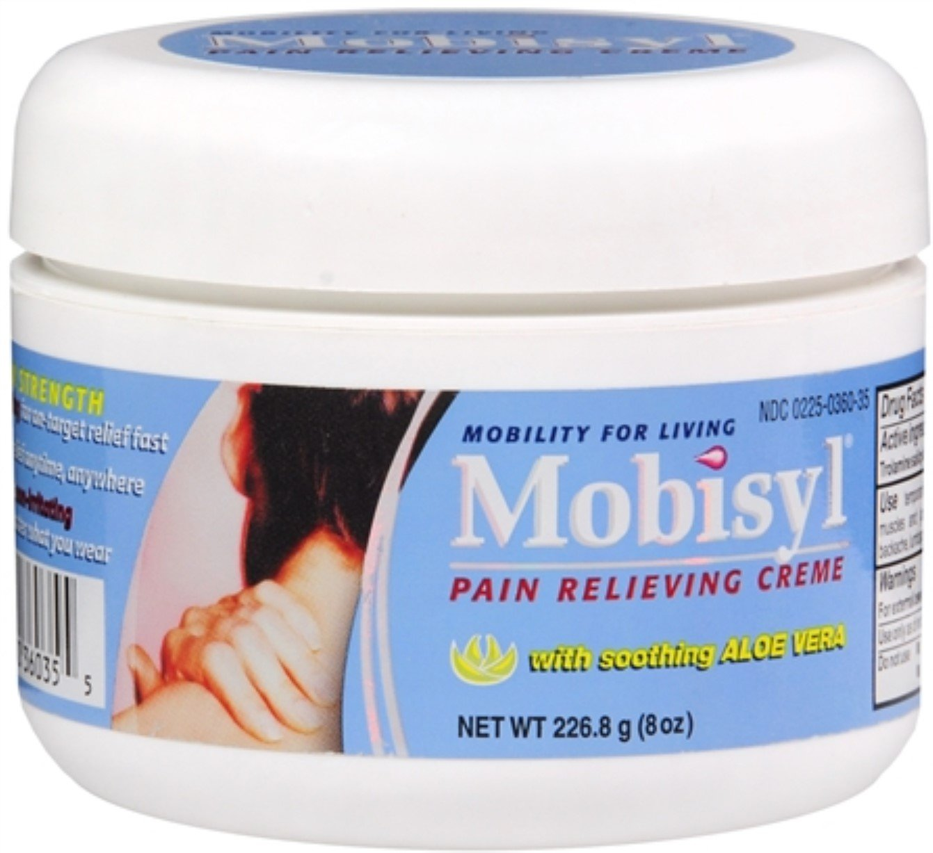 Mobisyl Creme 8 oz (Pack of 10)