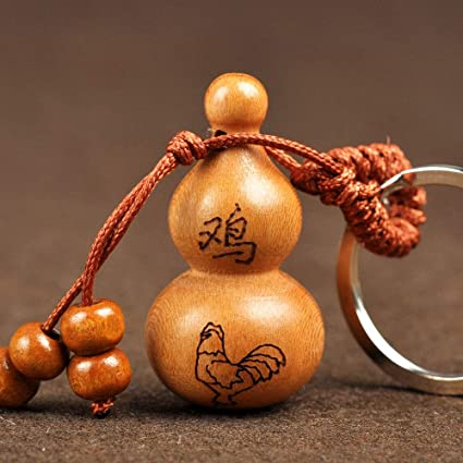 Amazoncom Chinese Gourd Keychain 12 Zodiac Rat Cattle Tiger Rabbit