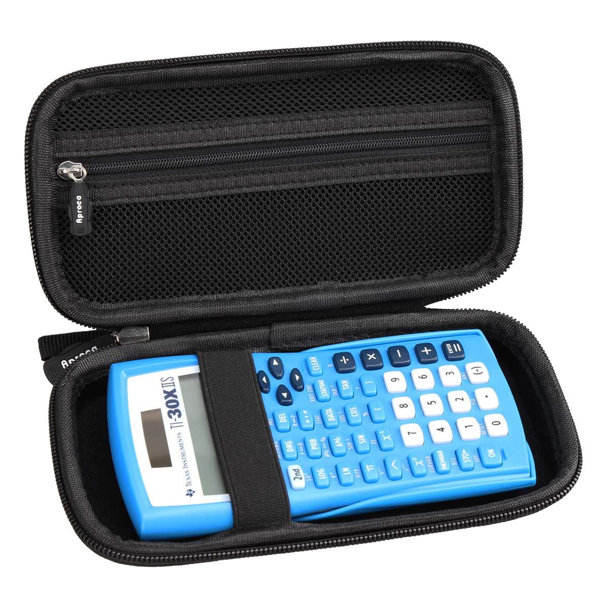 Aproca Hard Travel Case Bag for Texas Instruments TI-30X IIS 2-Line Scientific Calculator by Aproca