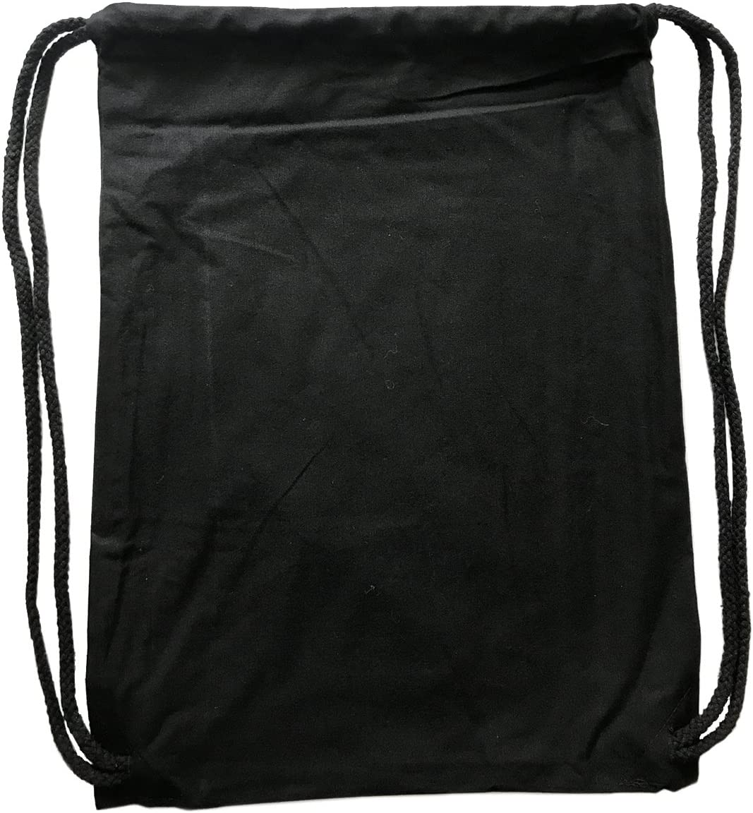 PREMYO Sac R/éutilisable Fruit L/égume Sac de Course Cabas Tote Bag Coton R/ésistant Anses Longues Noir