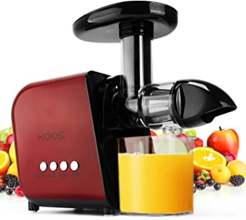 KOIOS Quiet Motor Slow Masticating Juicer