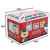 WoneNice Kids Children's Storage Toy Box, Boys