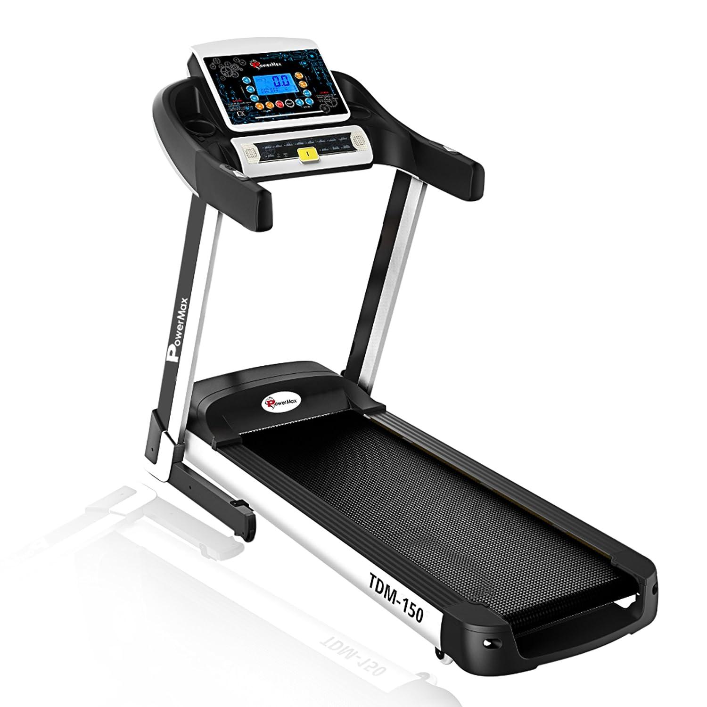 Powermax Fitness TDM-150 (2.5 HP), Smart Run Function, Auto