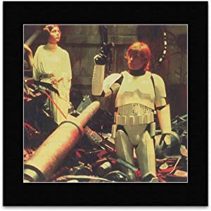 Stick It On Your Wall Star Wars - Death Star Trash Compactor Luke and Leia. Mini Poster - 29.2x30cm