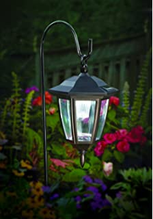 Amazon maggift 26 inch hanging solar lights dual use shepherd maggift lantern outdoor shepard path hanging solar lights 2 pack aloadofball Images