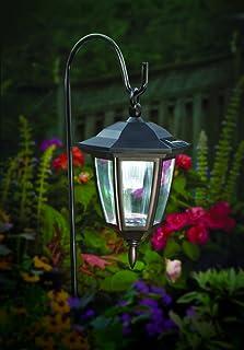 Maggift Lantern Outdoor Shepard Path Hanging Solar Lights 2 Pack & Amazon.com: LVJING Solar Lights Outdoor Hanging Lantern 2 Pack ...