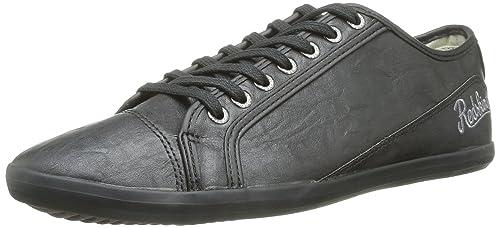 Waller, Baskets Hommes, Noir (Noir), 41 EURedskins