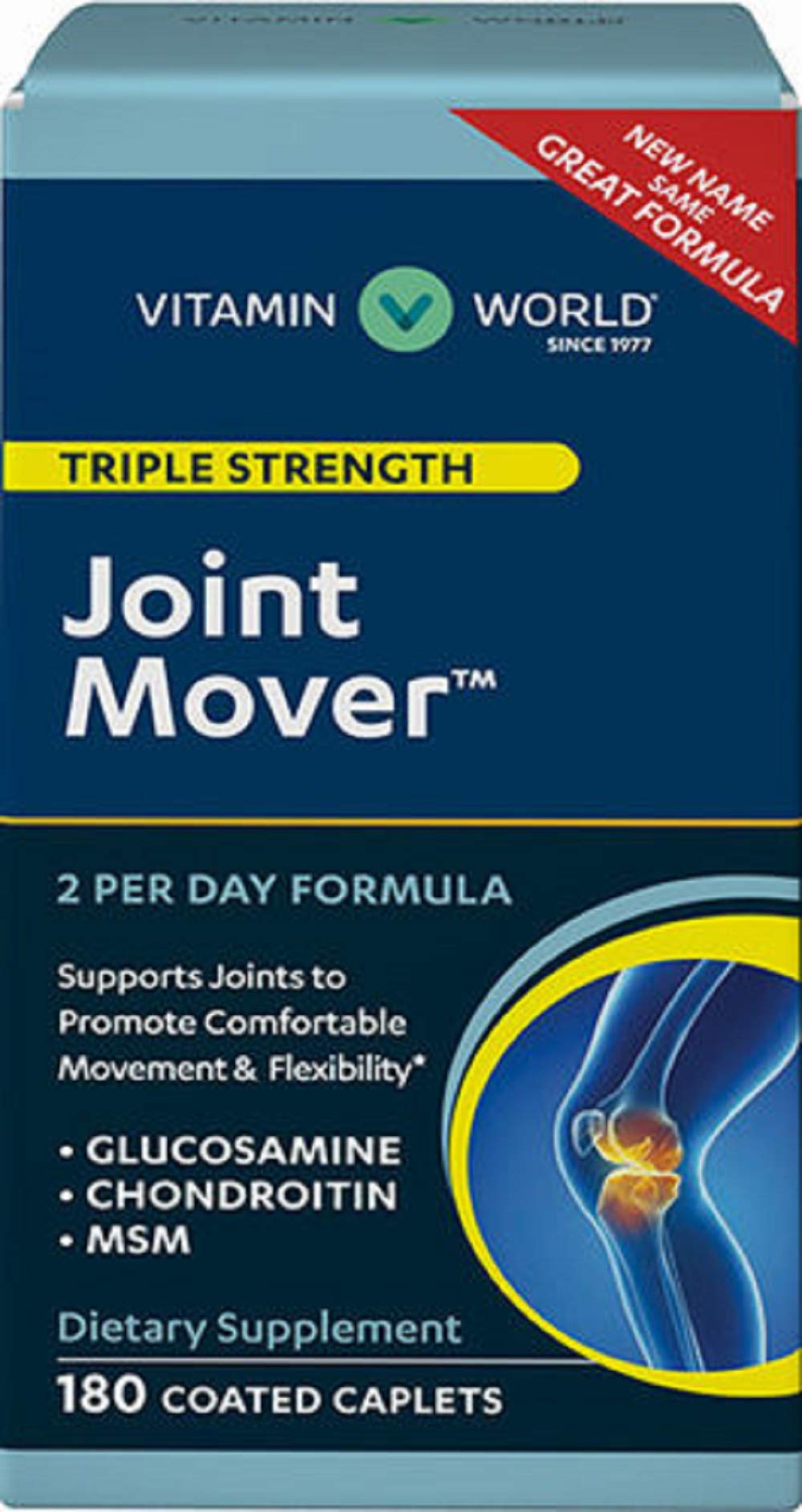 Vitamin World Advanced Triple Strength Joint Mover ®, 270 Caplets