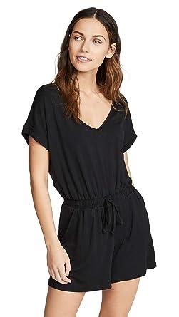 fb2dc604a5a Amazon.com  Z SUPPLY Women s Blaire Sleek Jersey Romper  Clothing