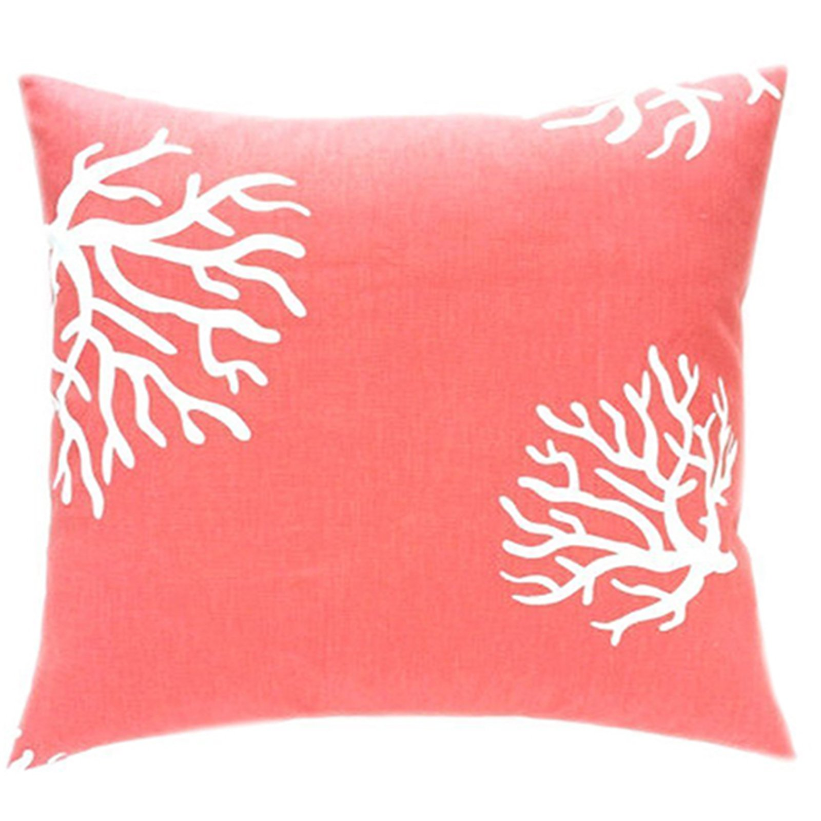 ABartonArtsale Beach Coral 9077 Zippered Polyester Pillow Cases Cover Cushion Personalized 18x18 Inches