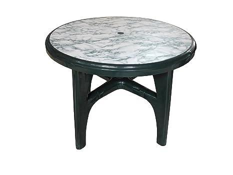 Tavoli Da Giardino Scab.Fimel Tavolo Da Esterno Modello Boss Di Scab Design Colore Verde