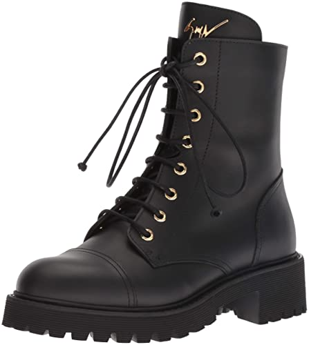 Amazon.com  Giuseppe Zanotti Women s I870055 Combat Boot  Shoes 646f9edd6