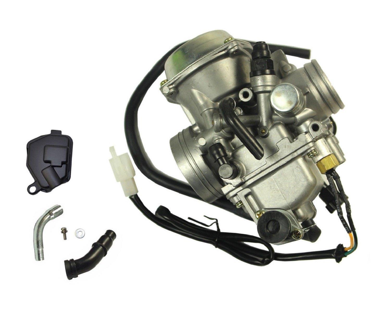 Carburetor w//Air Filter Oil Filter Fits Honda 350 Rancher TRX350TM//TE 2000-2006 New Carb heater