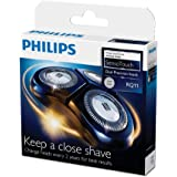 Philips DualPrecision Replacement Electric Shaving Head with GyroFlex 2D System and Low-Friction SkinGlide, RQ11/51