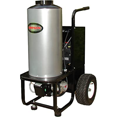 SIMPSON MB1518 Hot Water Pressure Washer