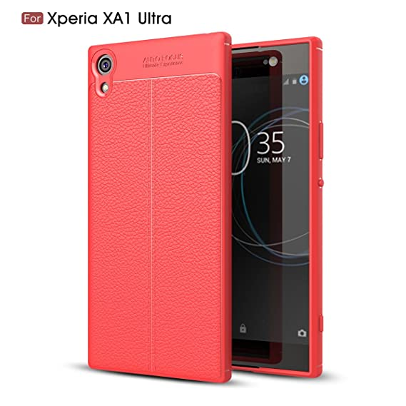 brand new d73a7 95524 Sony Xperia XA1 Ultra Card Holder Case,Sony Xperia XA1 Ultra Folio Leather  case cover Shockproof Case with Credit Card Slot,Durable Protective Case ...