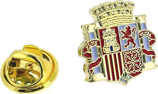 Pin de solapa del Escudo de la II República Española: Amazon.es: Ropa y accesorios