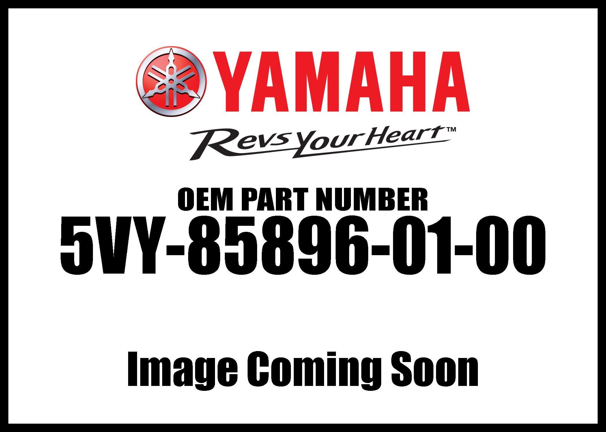 Yamaha 5VY-85896-00-00 Sensor, Cam Position; New # 5VY-85896-01-00 Made by Yamaha