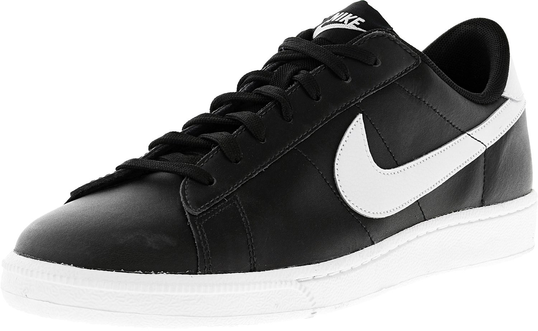 ea59022029644 Galleon - Nike Mens Tennis Classic Cs Black/Pure Platinum Ankle-High Fashion  Sneaker - 10M