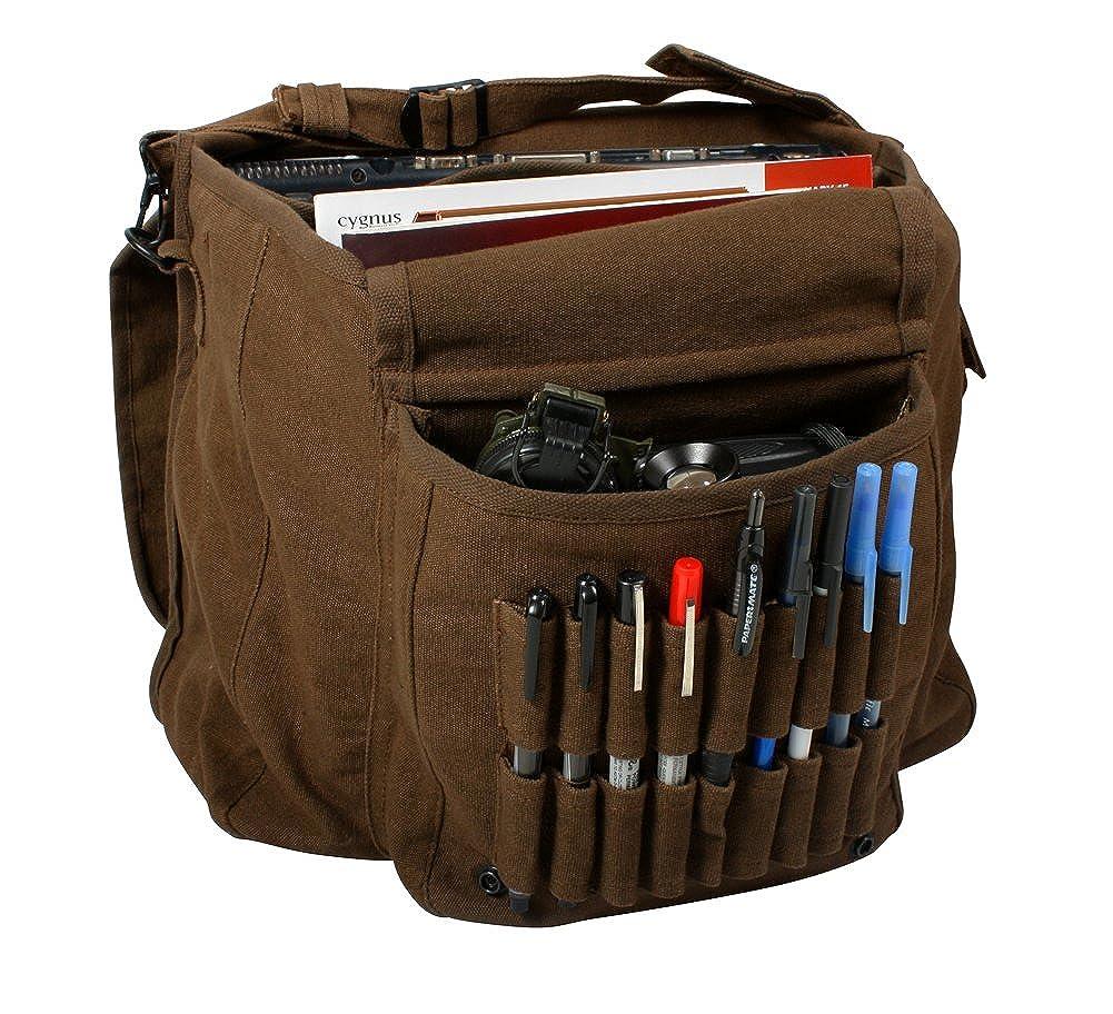 Earth Brown Vintage Classic Shoulder Messenger Bag