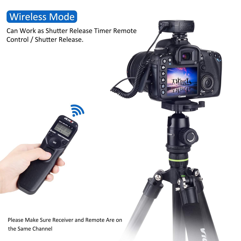 VILTROX FSK - Disparador Remoto inalámbrico de 2,4 GHz para cámara ...