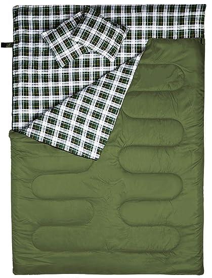 Amazon.com: BESTEAM Saco de dormir, clima frío y frío para ...