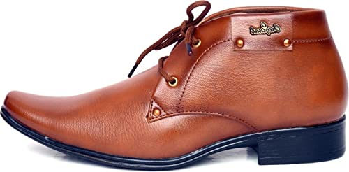 50adf543b92f T-Rock Men s Synthetic Leather Formal Shoes  Buy Online at Low Prices in  India - Amazon.in