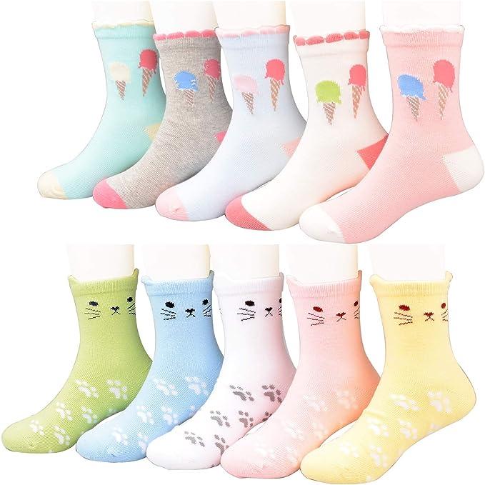 Lot 12 pair Kid Crew Ankle Socks Toddler Boys Casual Multi Color Sock  2-4 Yrs