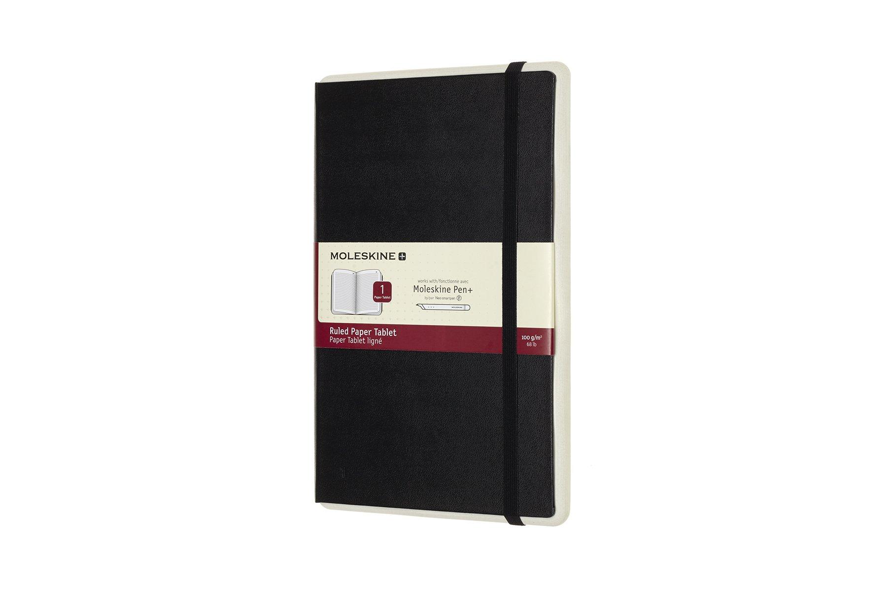 Moleskine Paper Tablet Hard Cover Smart Notebook, Ruled,...