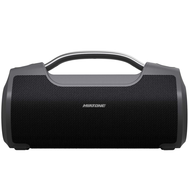 MIATONE 60W Portable Speaker with Titanium Subwoofer