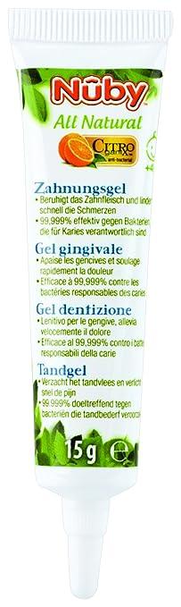 7 opinioni per Nuby Gel Dentizione Lenitivo Gengive Dei Bambini 15Gr Citroganix