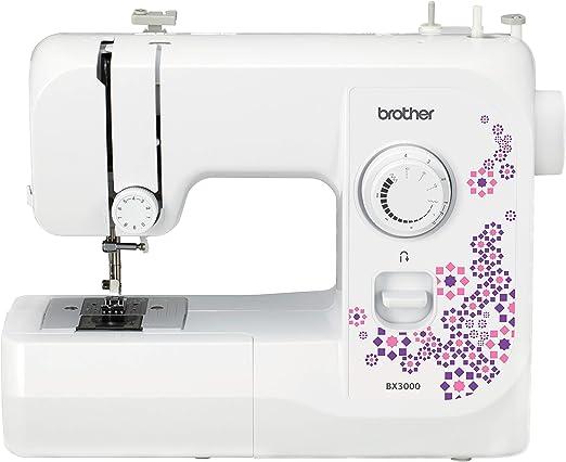 Brother BX3000 - Máquina de coser (Violeta, Blanco, Costura, 4 mm ...