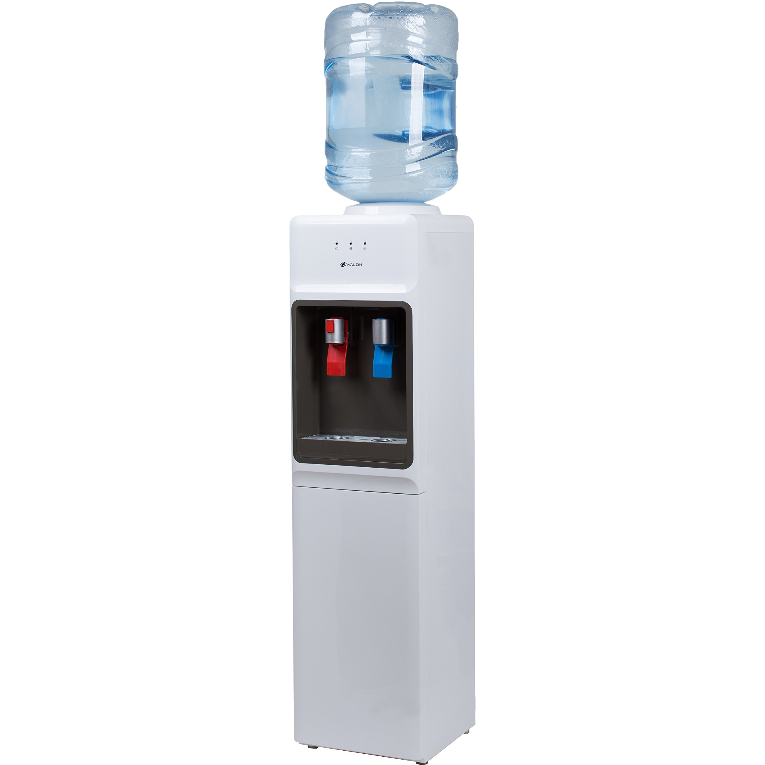 Avalon Top Loading Water Cooler Dispenser - Hot & Cold Water, Child Safety Lock, Innovative Slim Design, Holds 3 or 5 Gallon Bottles - UL/Energy Star Approved by Avalon (Image #2)