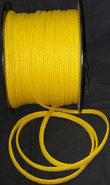 Amazon com : Wallace Cordage SBN10-300 Solid Braided Nylon