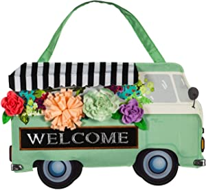 Evergreen Flag Flower Truck Door Décor - 20 x 1 x 13 Inches