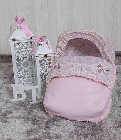 Babyline Caramelo - Saco porta bebé, grupo 0, color rosa
