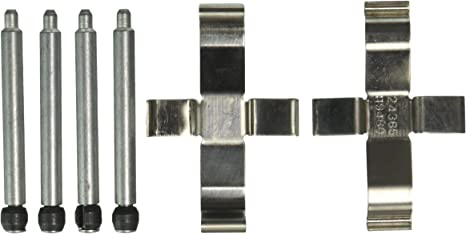 Disc Brake Hardware Kit Rear Centric 117.35008