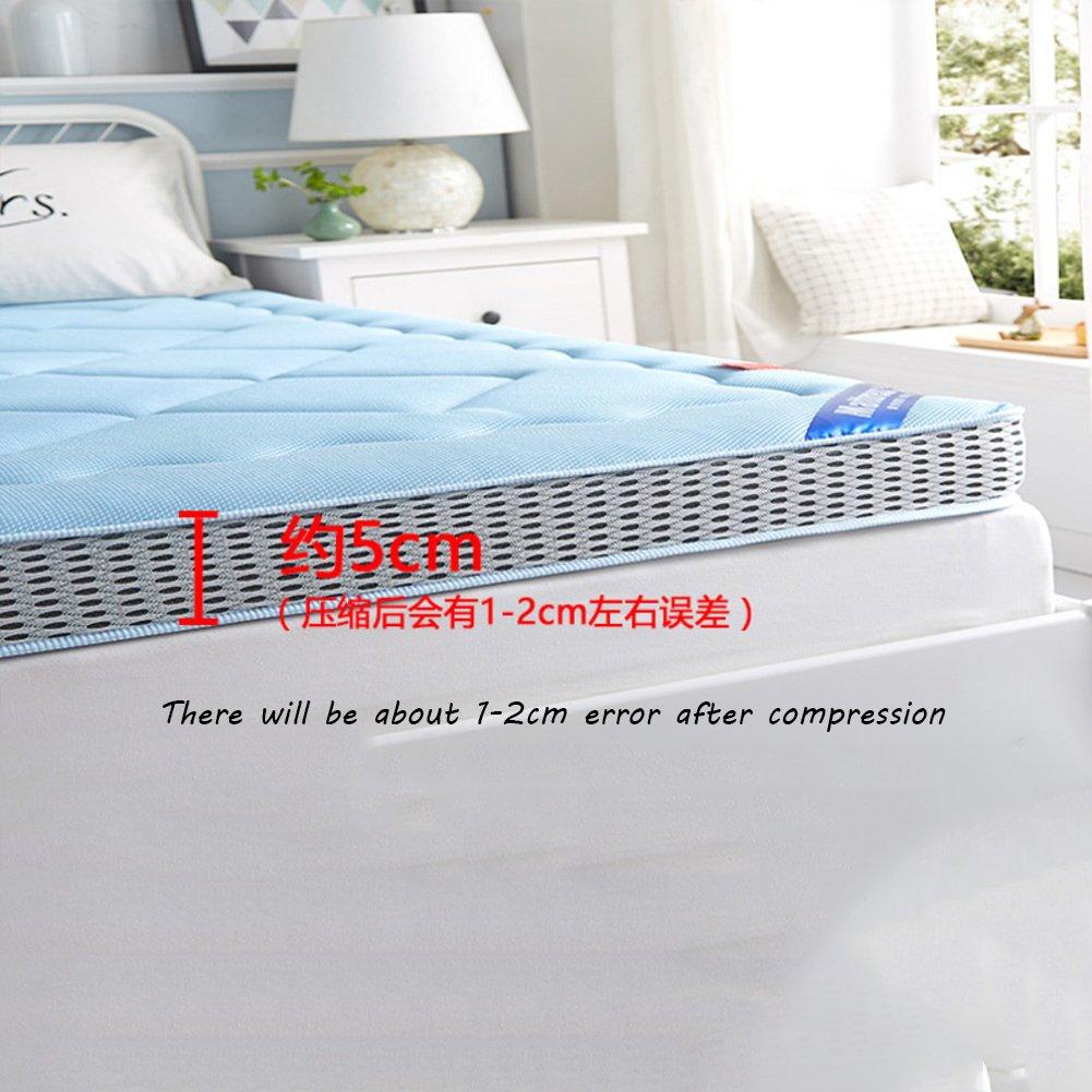 LJ&XJ 畳マットレス,反ほこりダニ マットレ ベッド スポンジ マットの柔らかい滑り止め床マットを厚く-A 120*198cm B07CKPMQBM A 120*198cm
