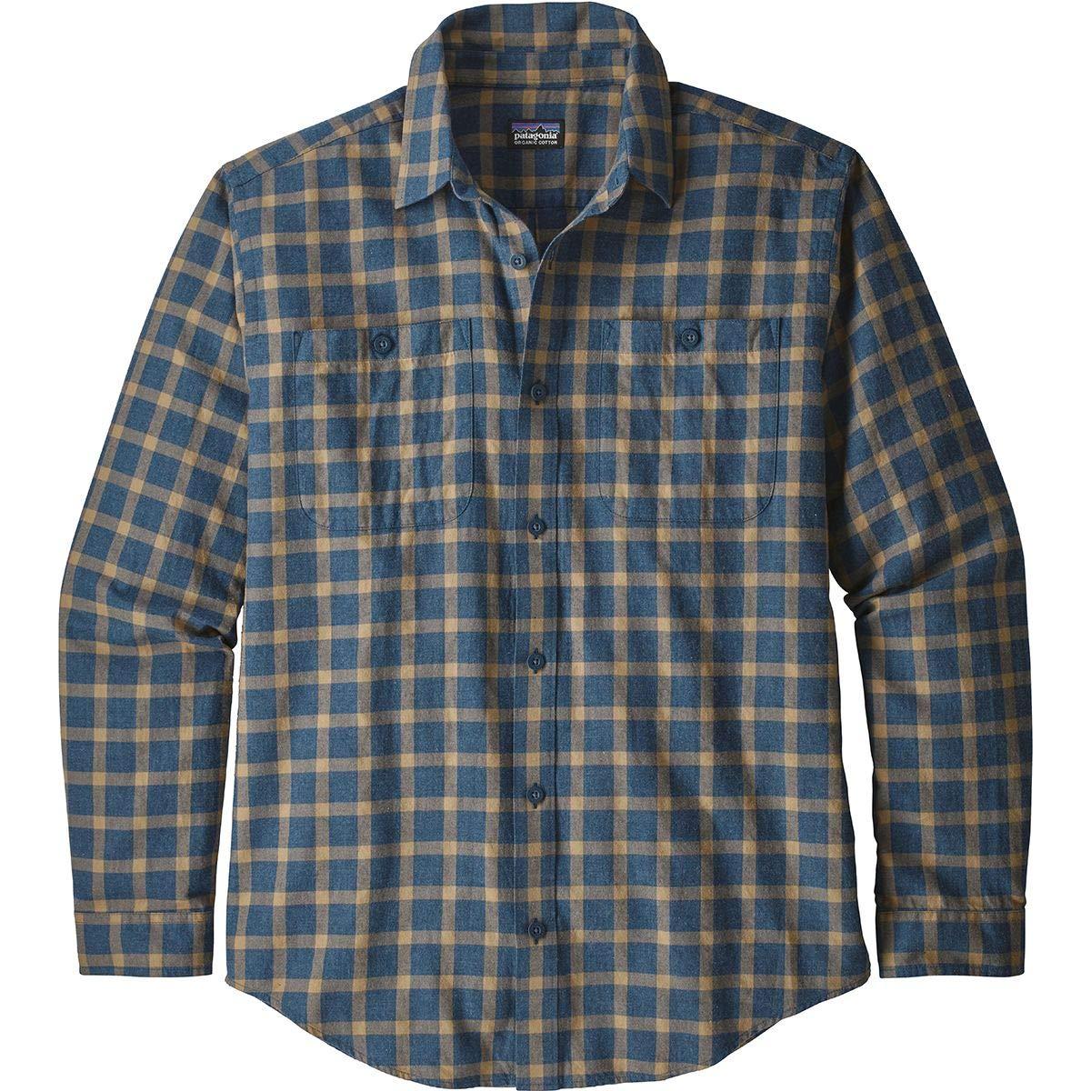 Patagonia M 'S Pima L/S Shirt, Herren Herren Shirt, 81a8e1