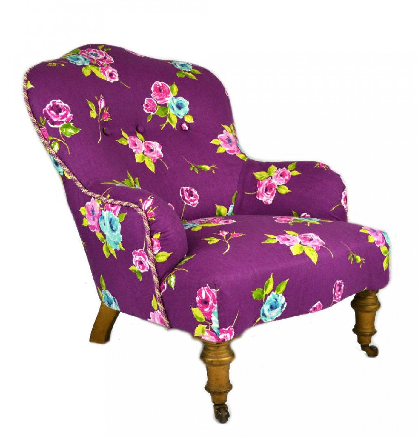 hohe victorian antique startseite blumen armchair velvet glatt mahagoni spectacular 1860er. Black Bedroom Furniture Sets. Home Design Ideas