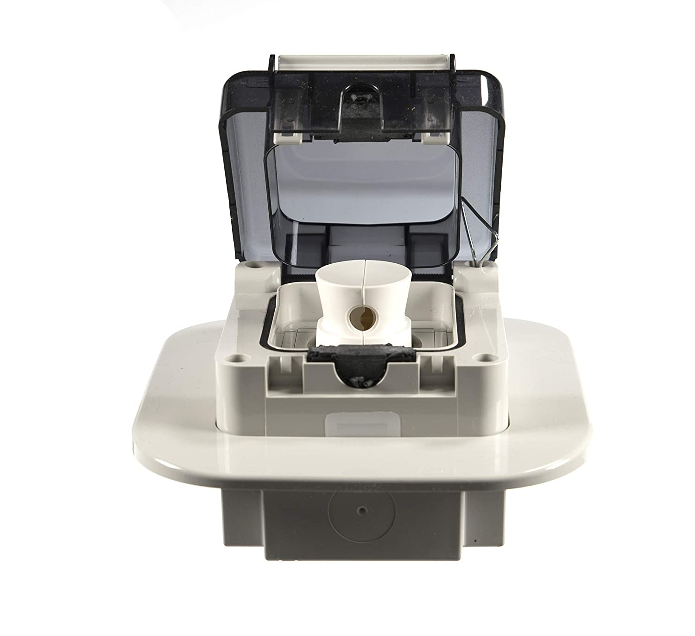 fabricada en la UE con enchufe a juego Toma de corriente empotrable o empotrada con protecci/ón IP66