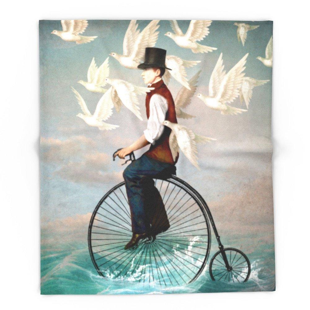 Society6 Ocean Ride 88'' x 104'' Blanket by Society6